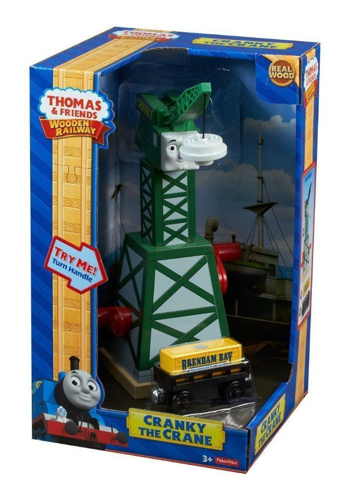 Thomas Amp Friends Wooden Railway Cranky The Crane
